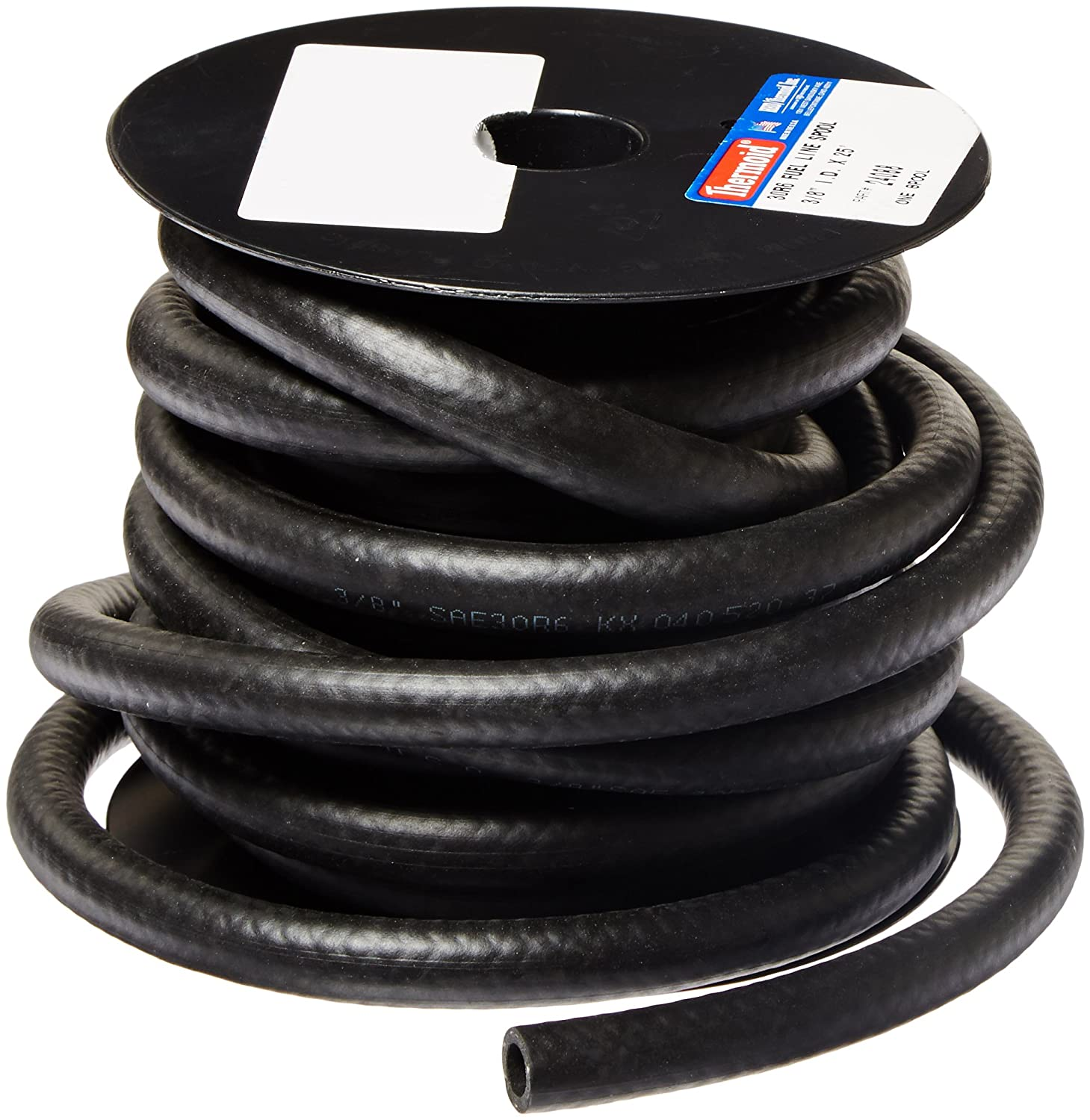 Amazon.com HBD Thermoid NBR/PVC SAE30R6 Fuel Line Hose 3/8  x 25u0027 Length 0.375  ID Black Industrial u0026 Scientific  sc 1 st  Amazon.com & Amazon.com: HBD Thermoid NBR/PVC SAE30R6 Fuel Line Hose 3/8