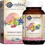 Garden of Life Organic Multivitamin for Women by mykind Organics Womens, 60 Count