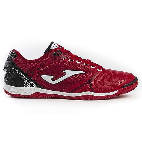Joma - Zapatillas de fútbol Sala de Sintético para Hombre Rojo Size: 39 EU