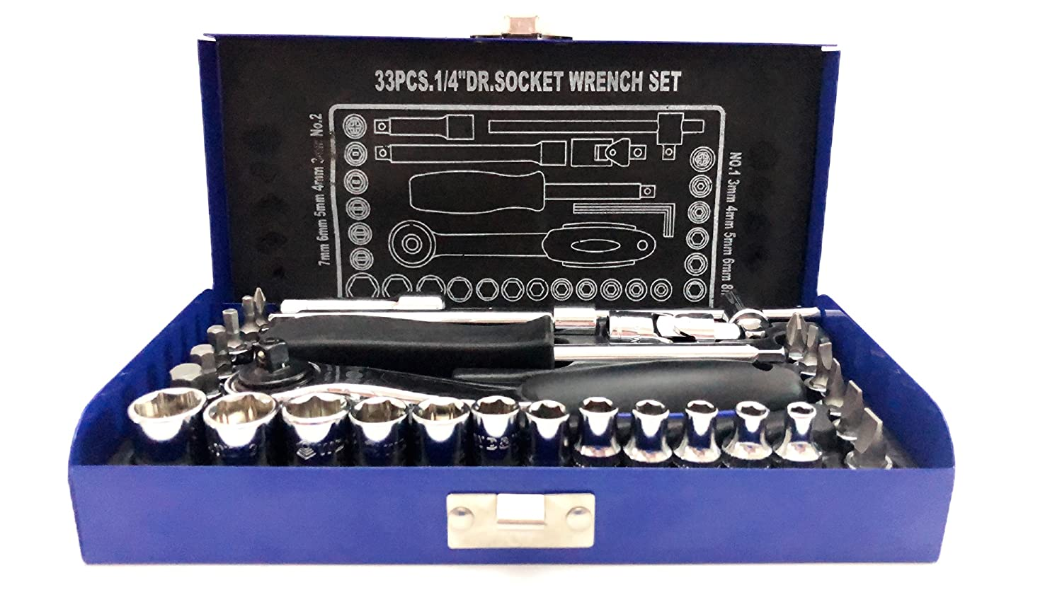 """22pcs Source from China Socket Wrench Set 3//8/"""" Dr"""