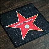 Hollywood Walk of Fame Fußmatte mit Personalisierung