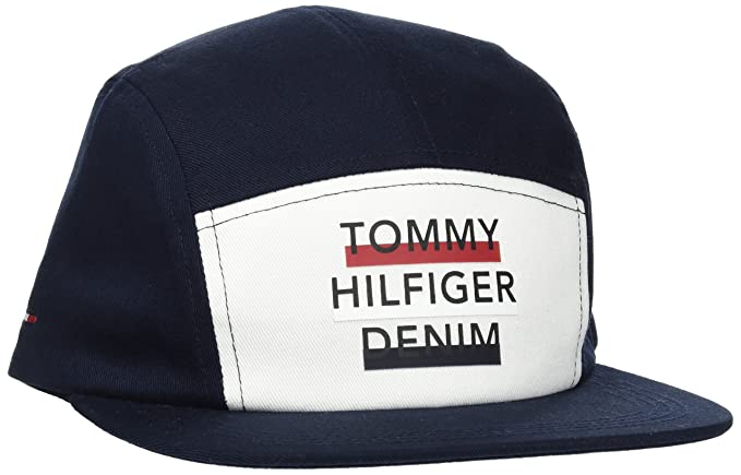 Womens Tommy Star Baseball Cap, Blue (Tommy Navy 413), One Size (Manufacturer Size: OS) Tommy Hilfiger