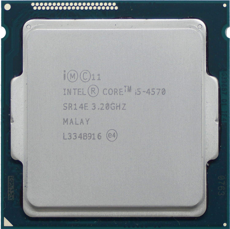Intel Core I5 4570 I5 4570 3,2 GHz 4 Core 4 Threads 6MB Socket LGA 1150 SR14E I5-4570