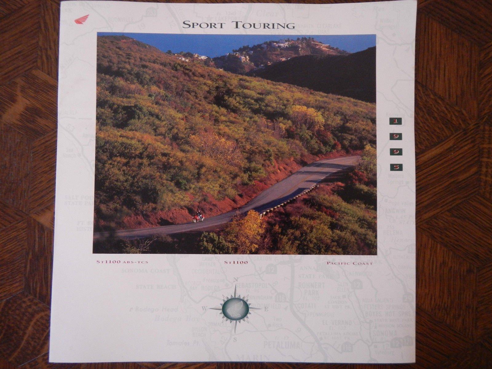 HONDA SPORT TOURING SERIES NOS OEM DEALER'S SALES SHEET LITERATURE BROCHURE 3
