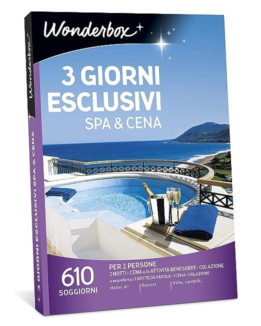 WONDERBOX Cofanetto Regalo - 3 Giorni ESCLUSIVI Spa & Cena - 610 ...