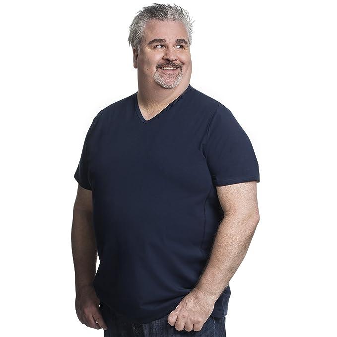 ALCA FASHION Camiseta Clásica Cuello Redondo T-Shirt Para Hombre, Tallas Extra Grande XXL-B - 8XL-B