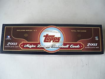 2003 Topps Baseball Factory Sealed Complete Set 720 Cards