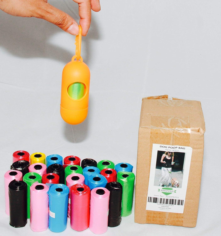 ADEPTNA Bolsas de Caca para Perro biodegradables, 390 Bolsas ...