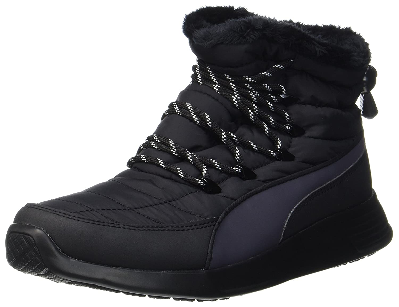 Puma Damen St Winter Boot Schneestiefel  40 EU|Schwarz (Black-periscope)