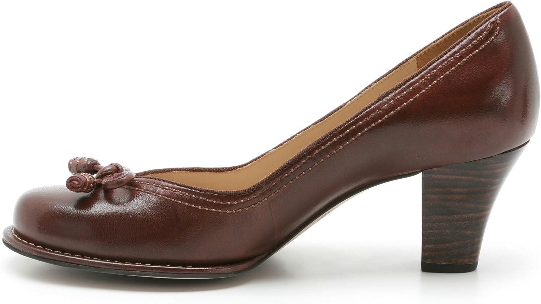 Clarks Damen Bombay Lights Pumps, Braun (Chestnut Leather