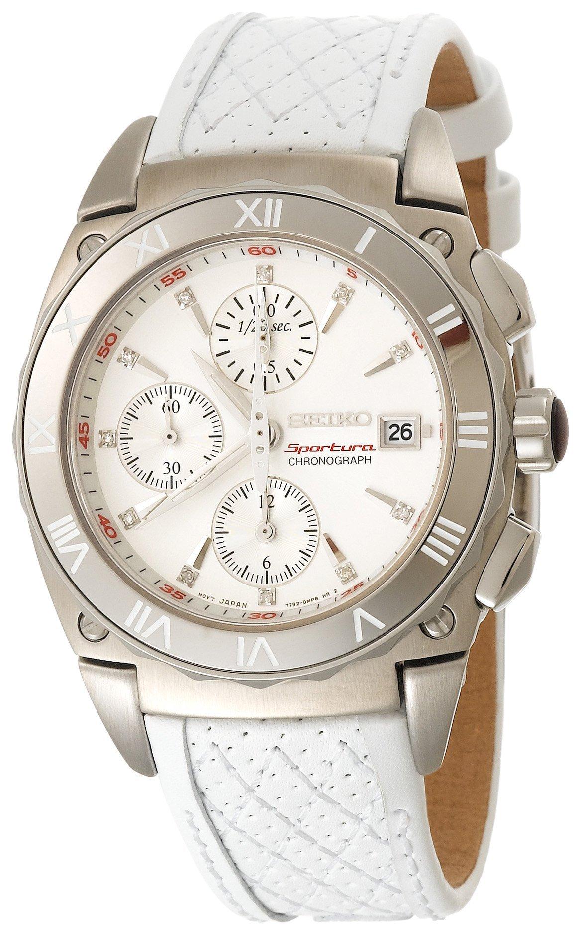 Seiko Women's SNDZ43 Sportura Chronograph Watch