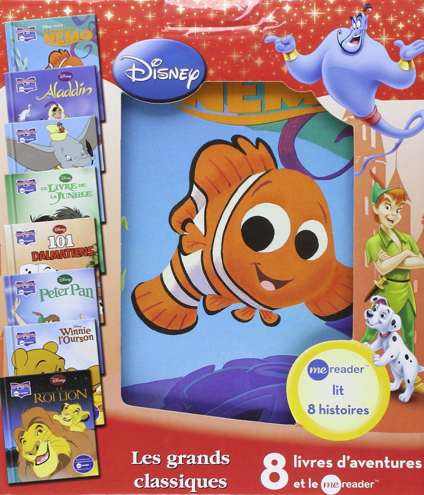 Me Reader Classiques Disney Tablette De Lecture 8 Livres
