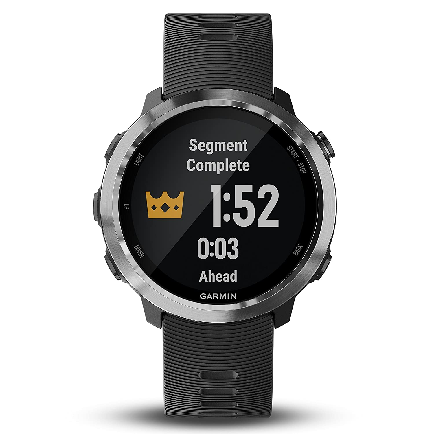 Garmin Forerunner 645 GPS Running Watch with Contactless Payments and Wrist-Based Heart Rate and Wearable4U Ultimate Power Pack Bundle Black, Music Edition