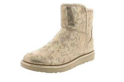 929ef67ba6e UGG Australia Women's Abree Mini Stardust Snow Boots, Metallic Gold ...