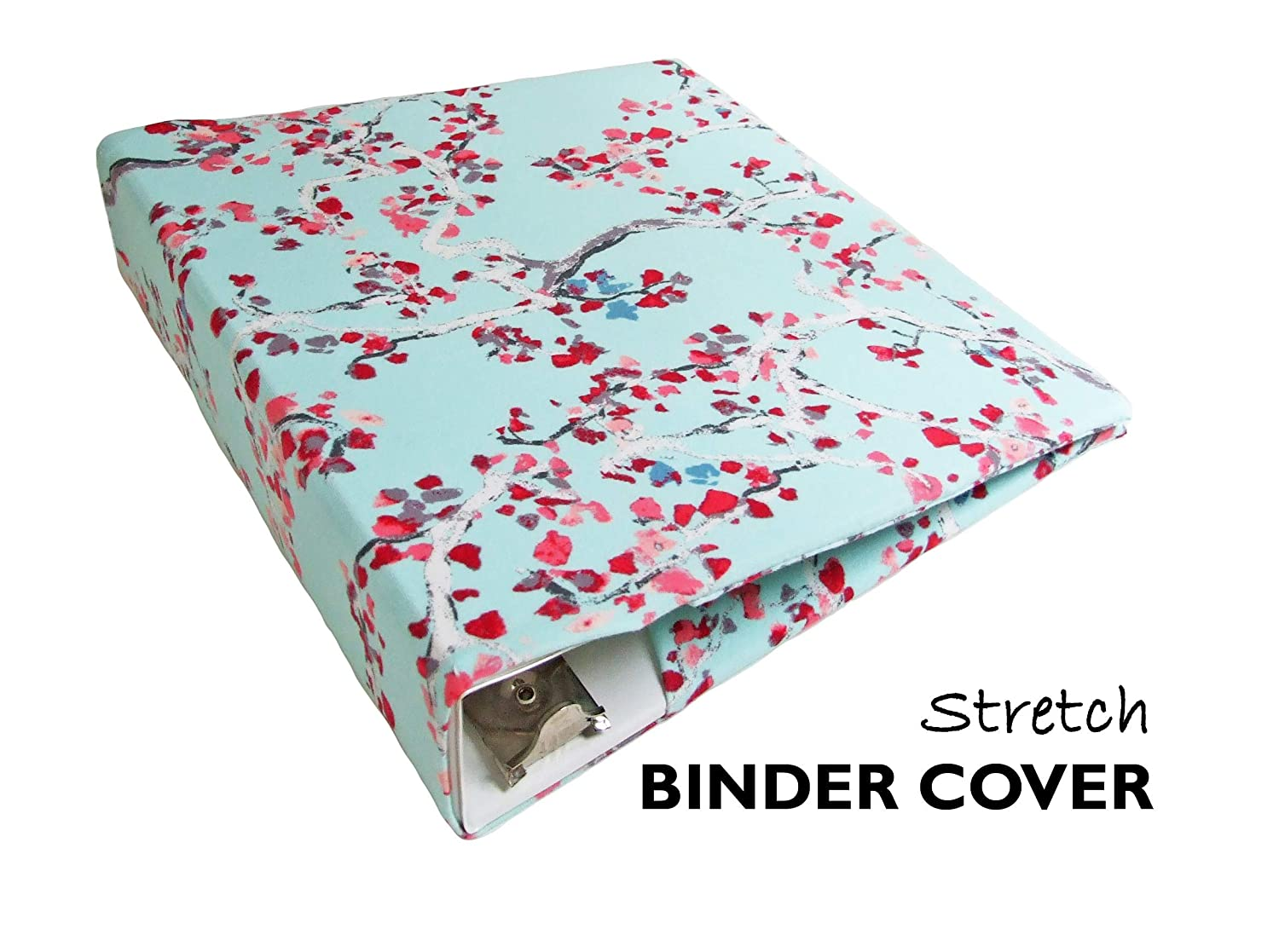 graphic regarding Planner Binders named : BLUE BLOSSOMS Floral Planner Include a Extend