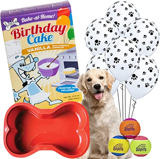 Awe Inspiring Amazon Com Dog Birthday Cake Dog Cake Mix With Frosting Personalised Birthday Cards Paralily Jamesorg