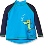 Zoggs Boys' Snorkels Long Sleeve Sun Protection Top