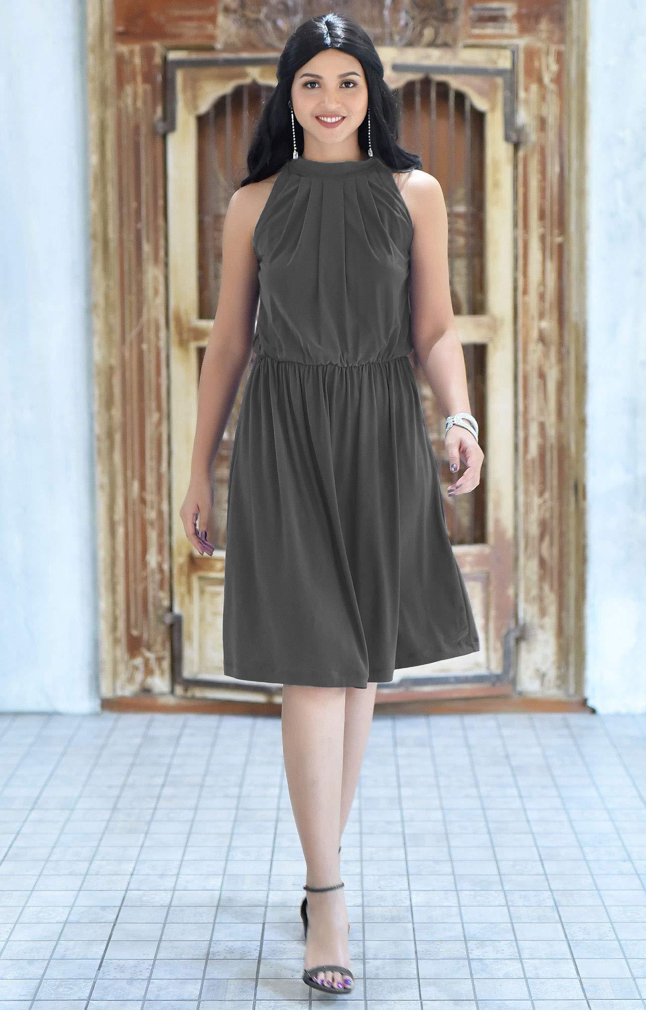 5284edc6b7e ... Formal Dressy Summer Casual Sexy Sundress Mini Midi Dress Dresses