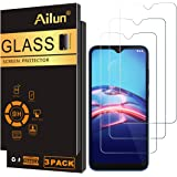 Ailun Screen Protector for Moto E (2020) 3 Pack Tempered Glass 9H Hardness 0.33MM Ultra Clear Bubble Free Anti-Scratch Finger