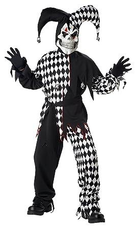 Amazon.com: California Costumes Childrens Toys Evil Jester: Clothing
