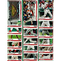$21 » Washington Nationals 2019 Topps Complete Mint Hand Collated 19 Card Team Set with Stephen Strasburg, Juan Soto and Max Scherzer Plus