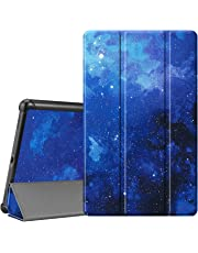 FINTIE SlimShell Case for Samsung Galaxy Tab A 10.1 2019 Model SM-T510/SM-T515, Super Thin Lightweight Stand Cover for Samsung Galaxy Tab A 10.1 Inch Tablet 2019 Release, Starry Sky