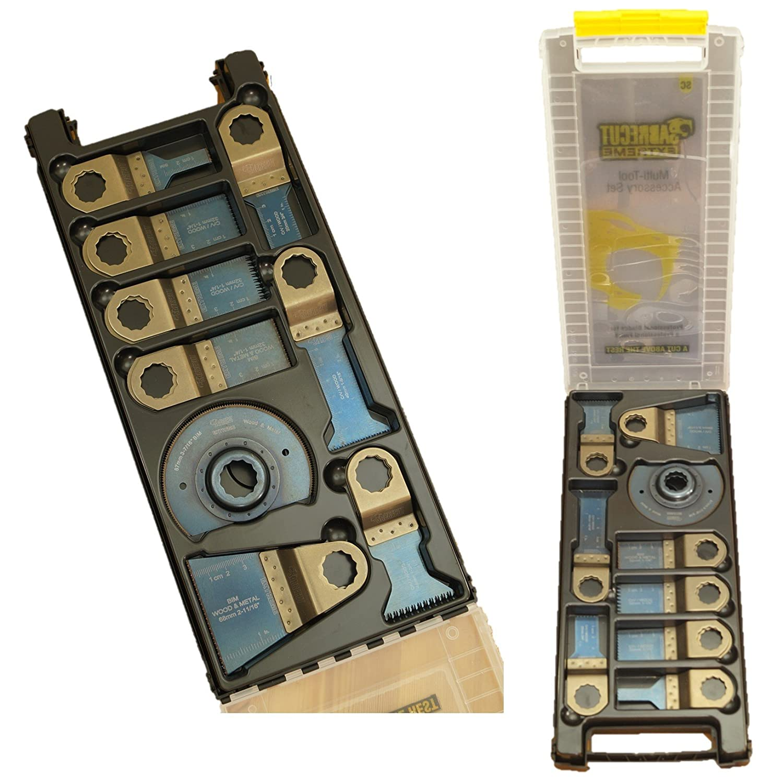 /Juego de cuchillas caso para Fein Supercut y Festool Vecturo multiherramienta oscilante multi herramienta accesorios 14/x sabrecut BB /_ sck14/Mix/