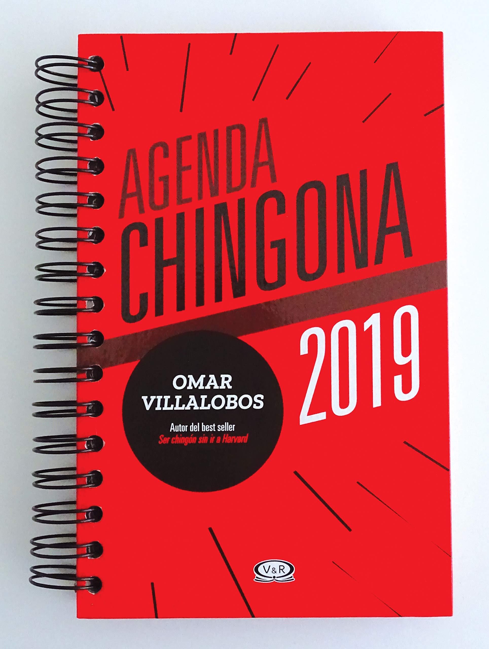 AGENDA CHINGONA 2019: SIN AUTOR: 7798083705600: Amazon.com ...