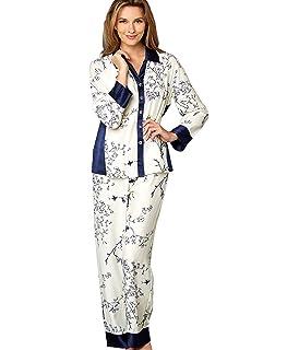 167dcbc0698c4f Julianna Rae Women s 100% Silk Pajamas