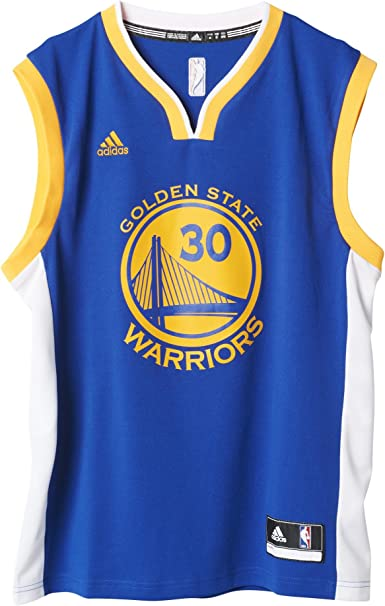 Adidas Int Replica Golden State Warriors - Camiseta de Stephen Curry para hombre, Azul: Amazon.es: Ropa y accesorios