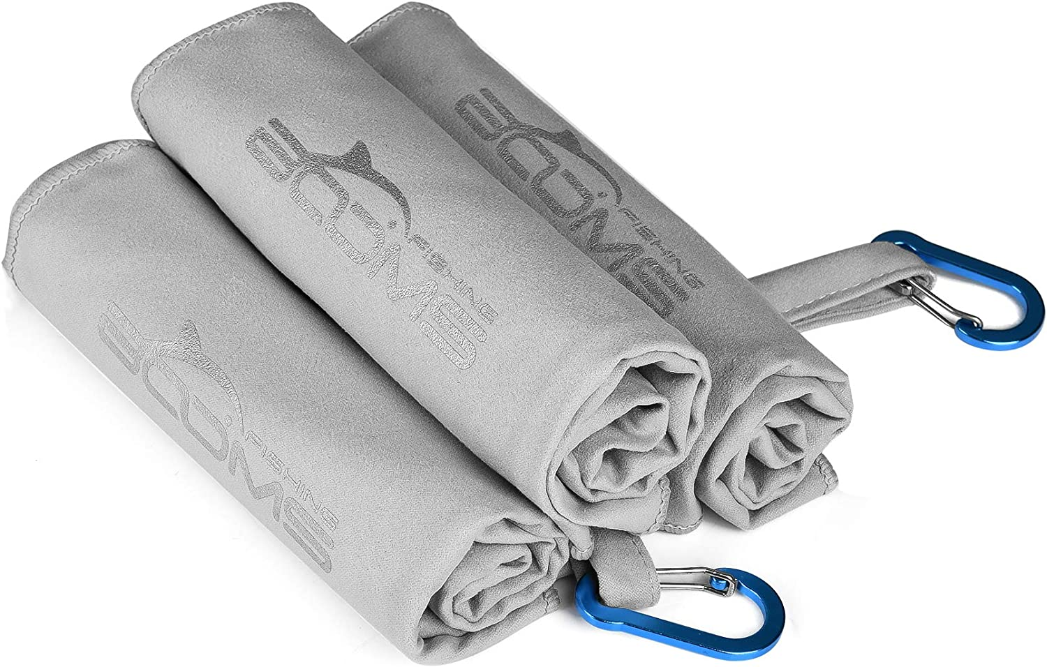 Booms Fishing Microfiber Fishing Towel with Clip