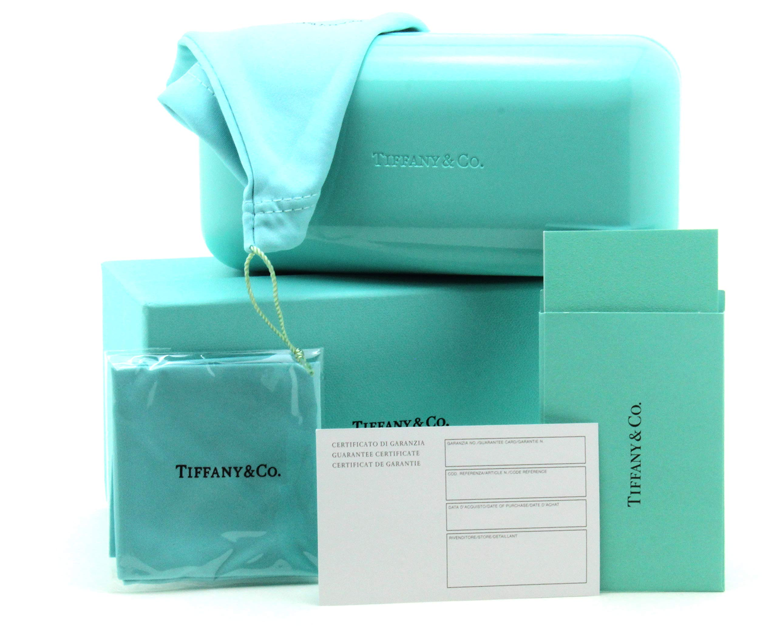 Tiffany & Co. Hard Clam-Shell Case for Sunglasses Eyeglasses w/Original Retail Packaging (Large)