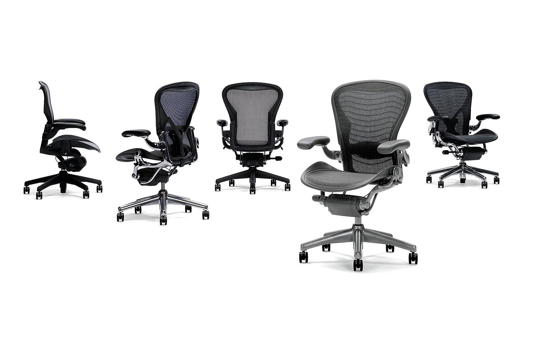 Aeron chair graphite - Amazon Com Aeron Desk Chair Basic Color Carbon Medium Kitchen Dining