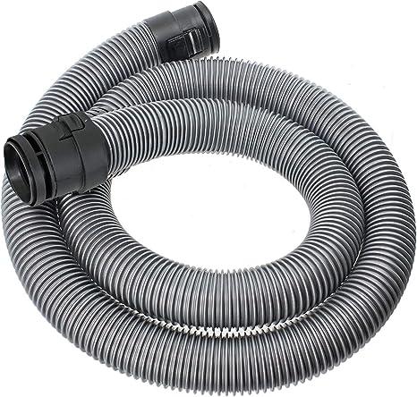 Spares2go 1,7 m tubo manguera para Miele C1 Classic Junior Ecoline Powerline aspiradora (38 mm, Plata): Amazon.es: Grandes electrodomésticos
