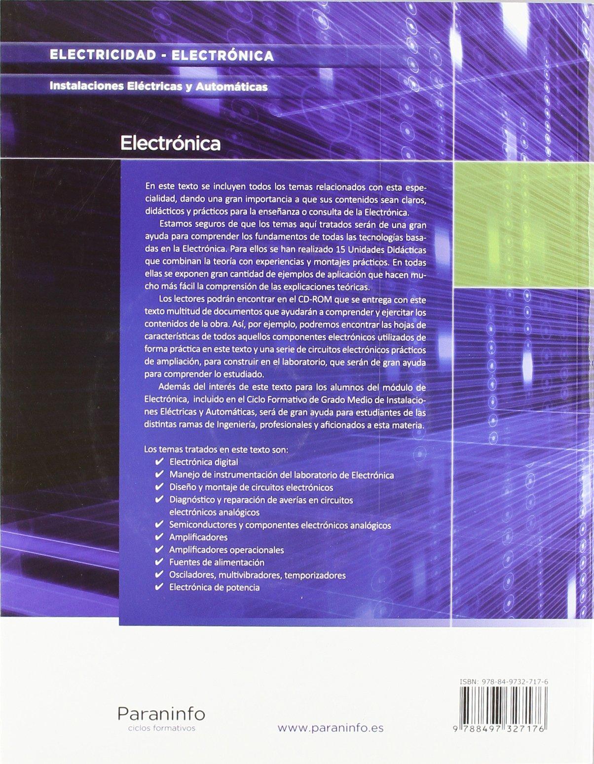 Electrónica (Ciclo formativo GM): Amazon.es: PABLO ALCALDE SAN MIGUEL: Libros