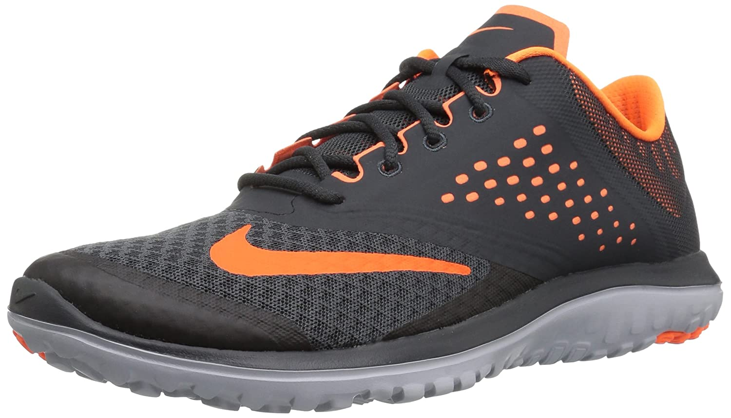 competitive price 10c41 9b301 Nike Men s FS Lite 2 Running Shoe, Anthracite Total Orange Wolf Grey, 12  D(M) US  Buy Online at Low Prices in India - Amazon.in