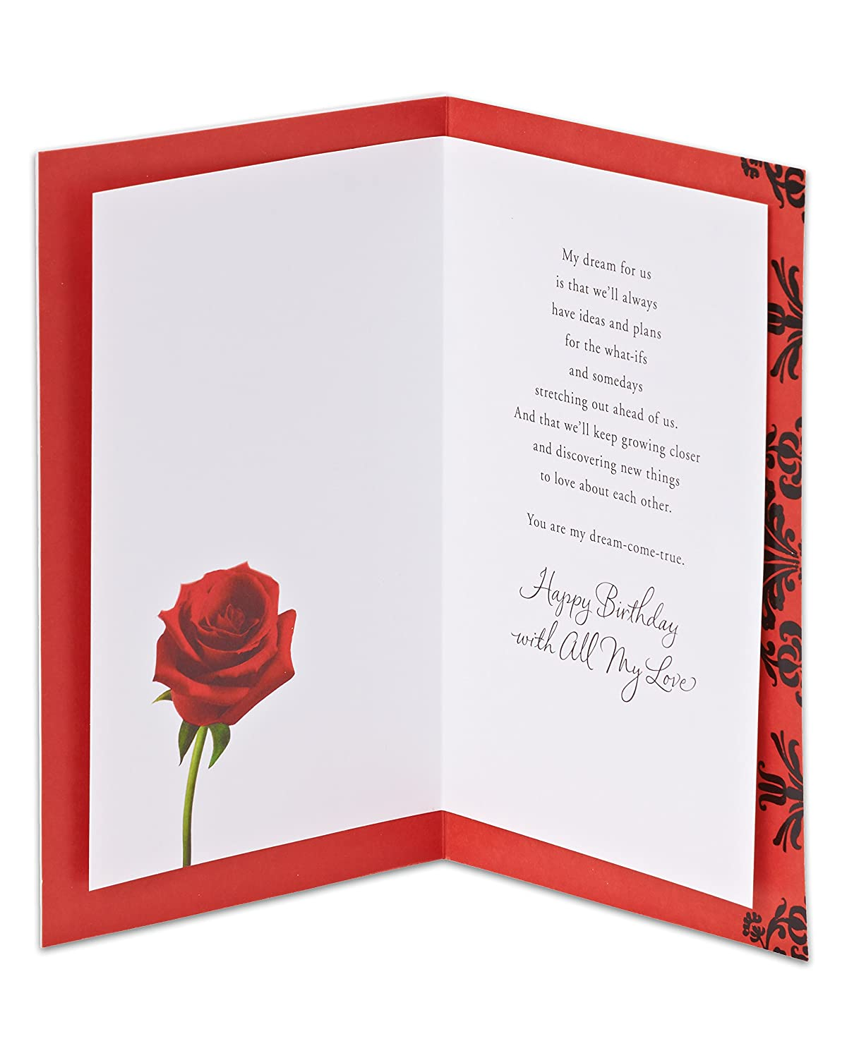 Amazon American Greetings Rose Birthday Card Office Products
