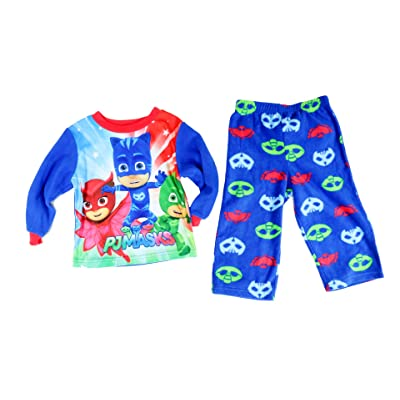 AME 2-Pc. Pj Masks Pajama Set, Toddler Boys (2T-4T)
