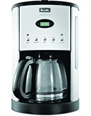 Breville Bcm600Blk Aroma Style Electronic Coffee Maker, Black