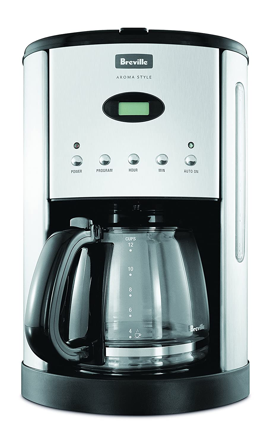 Breville Bcm600Blk Aroma Style Electronic Coffee Maker