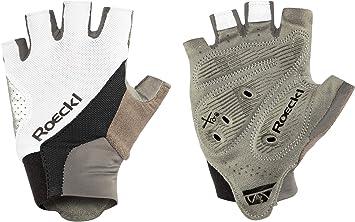 Roeckl 2019 Ivory - Guantes Cortos para Bicicleta, Color Blanco y ...