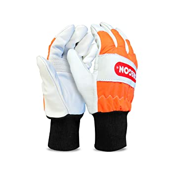 Oregon Large Chainsaw Safety Gloves 91305L