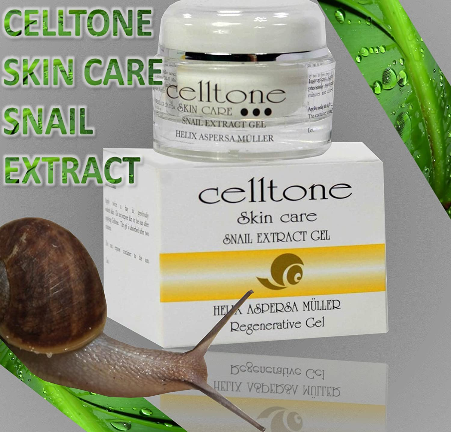 2 Celltone Baba De Caracol Snail Gel 100% Original Helix Aspersa Muller by 100% ORIGINAL: Amazon.es: Belleza