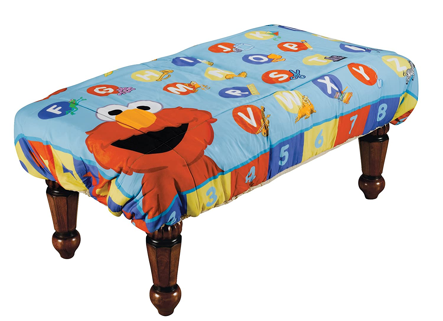 Amazoncom ABC Fun Pads Safety Table Cover Learn with Elmo Large