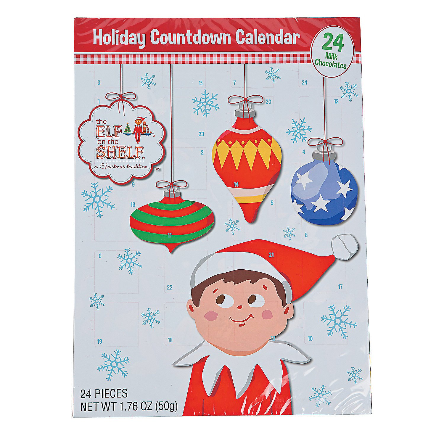 Amazon.com : Elf on the Shelf Holiday Christmas Candy Chocolate ...