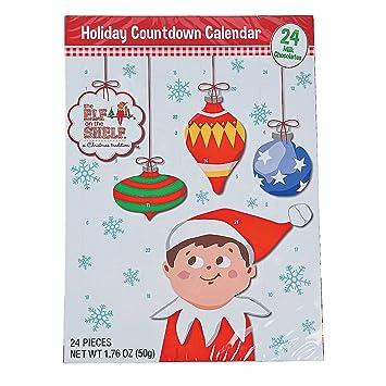 Amazon Com Elf On The Shelf Holiday Christmas Candy Chocolate