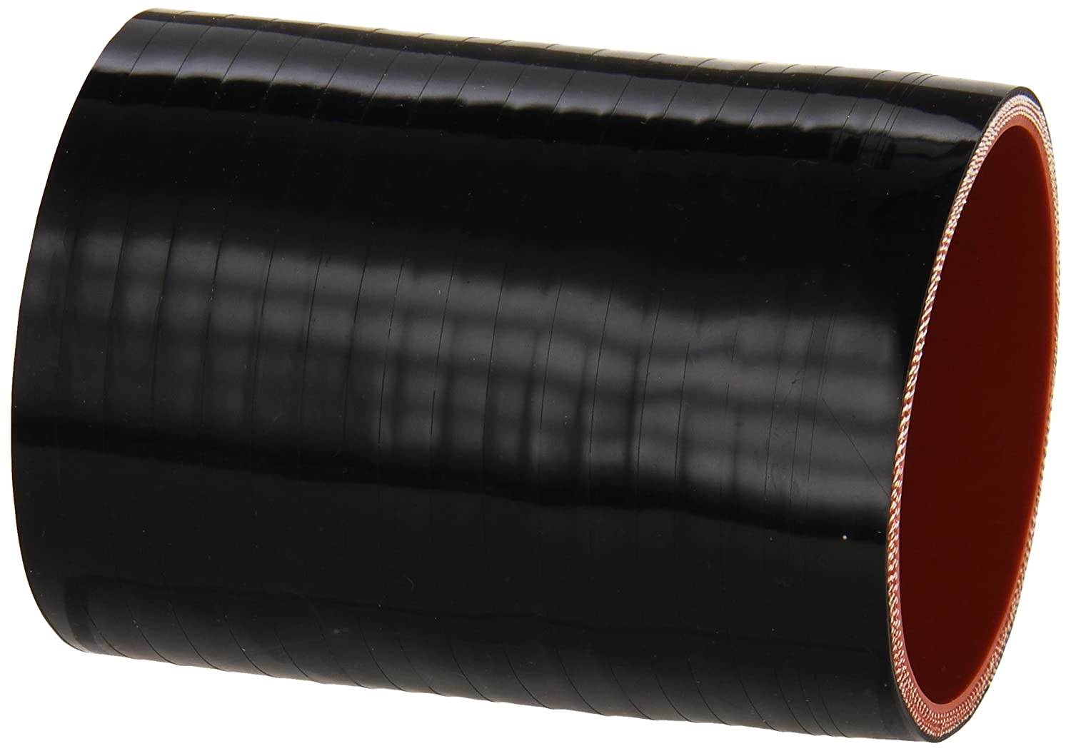 "B004NYI5JM HPS HTSC-275-L4-BLK Silicone High Temperature 4-ply Reinforced Straight Coupler Hose, 70 PSI Maximum Pressure, 4"" Length, 2-3/4"" ID, Black 81EH2EzZ-9L"
