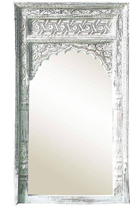 Orient Spiegel Wandspiegel Inara 122cm Groß Weiss Großer