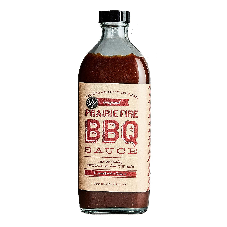 Original Kansas City Style BBQ Sauce | Prarie Fire BBQ | 300ml | Vegetarian Friendly