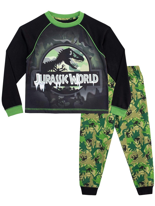 JURASSIC WORLD Boys' Dinosaur Pajamas